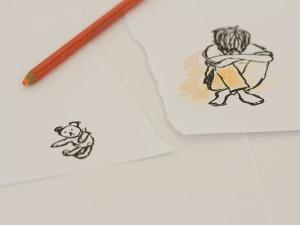 drawing- piglet